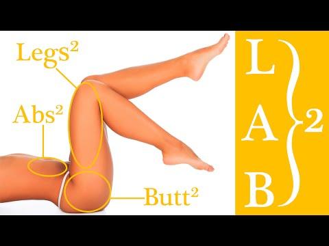 Ćwiczenie N.B.P. (Nogi, mięśnie brzucha i pośladków) - Poziom 2
