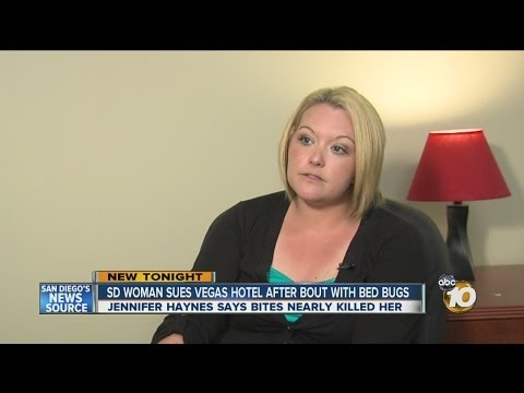 SD woman sues Las Vegas hotel after bout with bed bugs