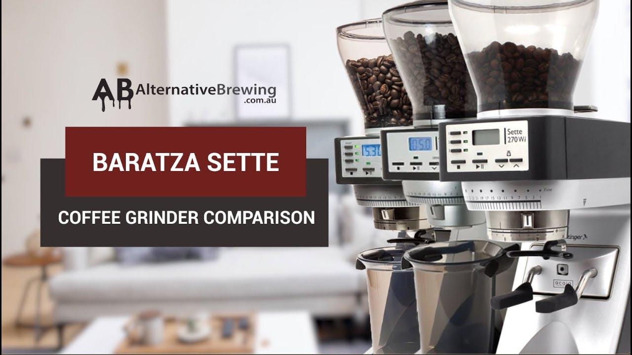 Baratza Sette Coffee Grinder Comparison Youtube