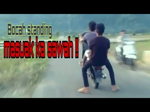 ANAK ILUSI STANDING, HAMPIRR NYEBURR KE SAWAHH !!!!