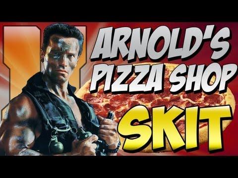 "Funny Black Ops 2 Skit ""Arnold Schwarzenegger in Black Ops 2!"""