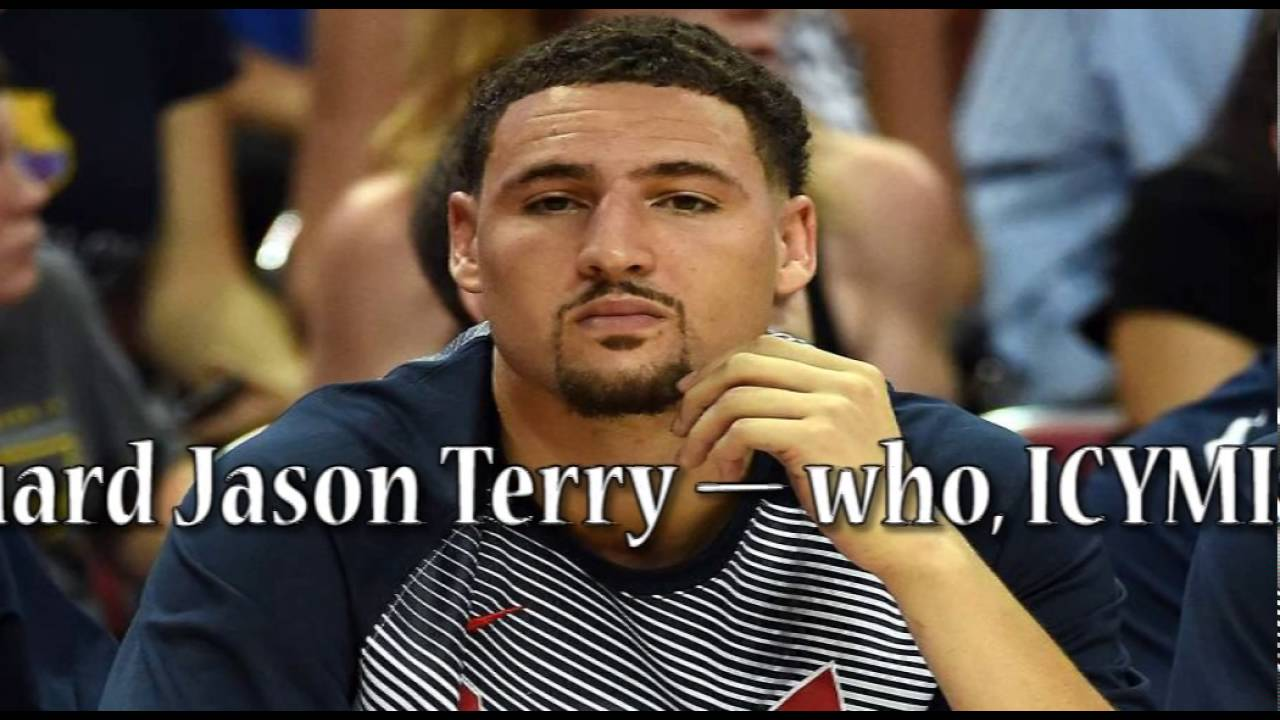 60813e75f6fa Klay Thompson is confused by Jason Terry calling him a  B side player