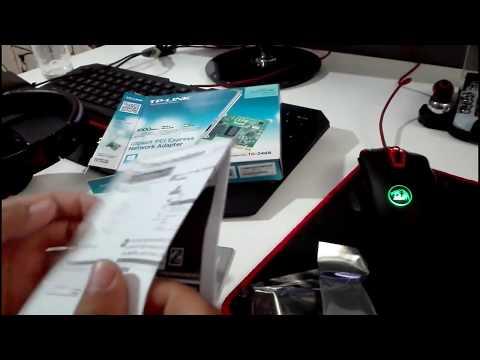 Unboxing Placa De Retea TP LINK TG 3468 10/100/1000Mbps + Montare