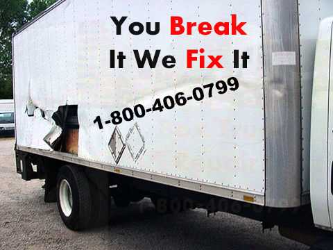 1-800-406-0799 |box truck repair fix| roll up door box truck |new spring box truck | mobile service
