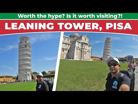 Visiting the Leaning Tower Of Pisa // Italy Travel Vlog {Day 13}