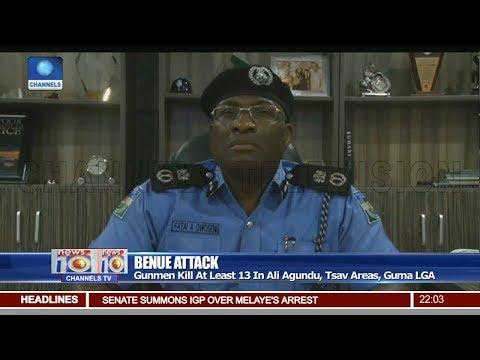 Police Confirm 13 killed In Benue Gunmen Attack