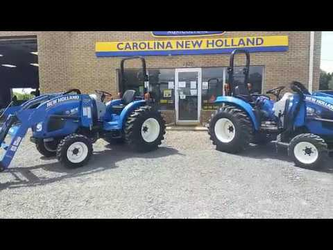 New Holland Boomer vs Workmaster Compact Tractors