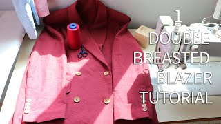 """Make a """"Double Breasted Blazer…"""