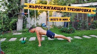 Быстрая жиросжигающая тренировка.Функциональная тренировка.Табата.Спорт и развитие