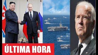 Inesperado Movimiento Militar de Estados Unidos tras la Amenaza de Rusia y China a la OTAN.