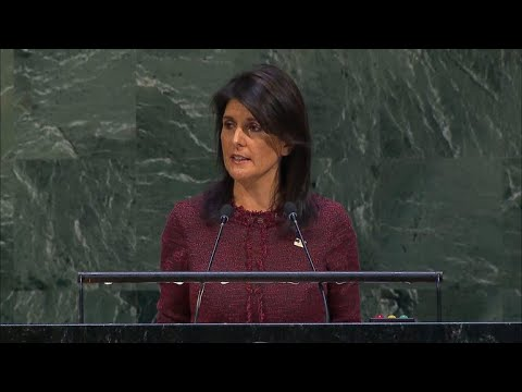 U.N. overwhelmingly condemns Trump