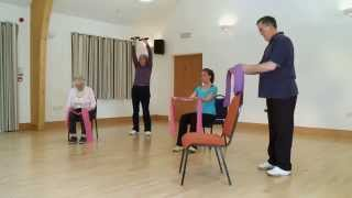 Exercise at home for the over 50s - www.generationgames.org.uk