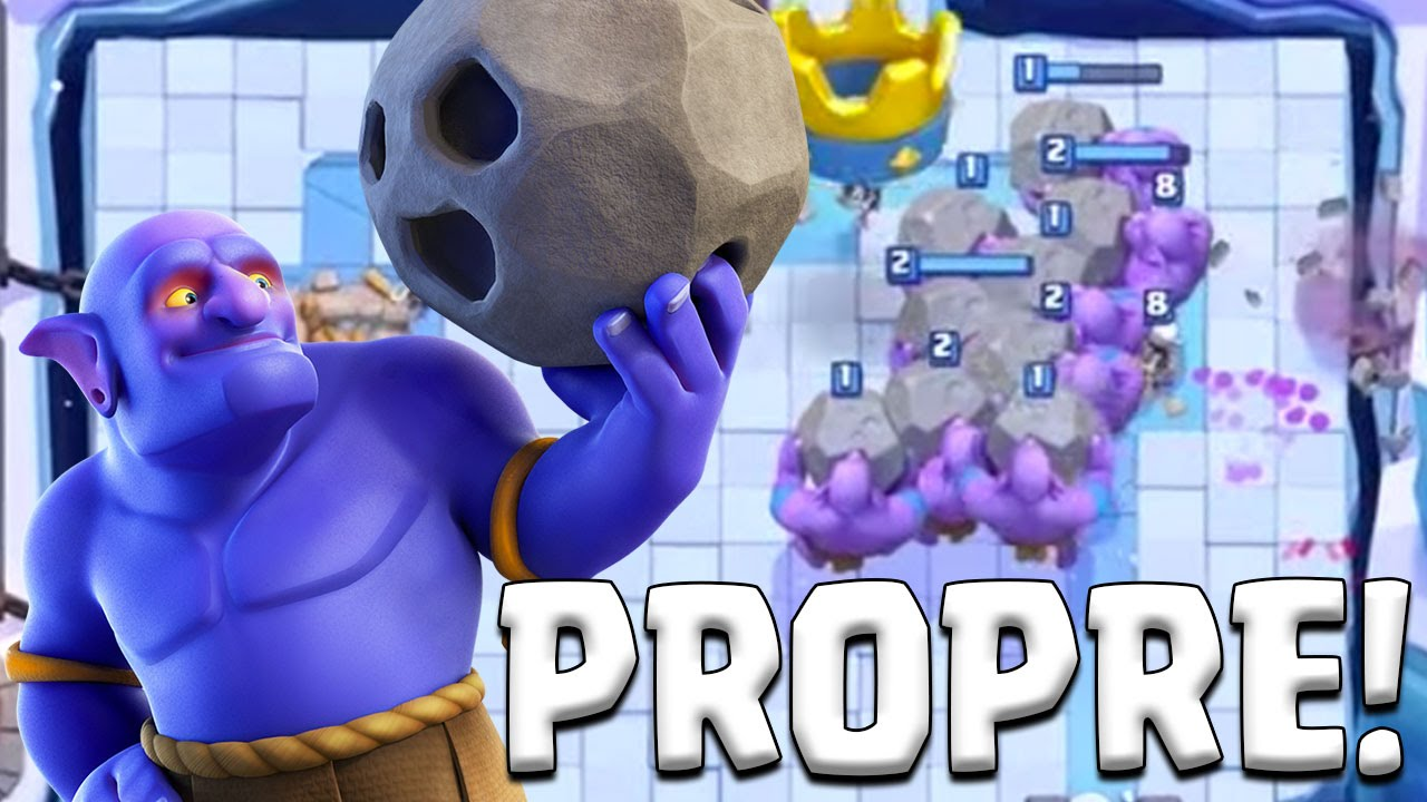 Clash Royale J'aime bien le bouliste ! - YouTube