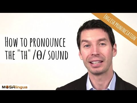 How to pronounce the th /θ/ sound | American English Pronunciation