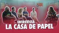 ENTREVISTA ELENCO DE LA CASA DE PAPEL - MAISA