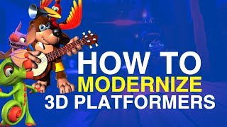 How to Modernize 3D Platformers // HeavyEyed