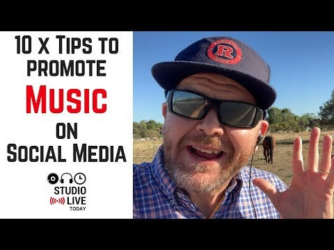 How to promote your music on social media in 2019 Mp3