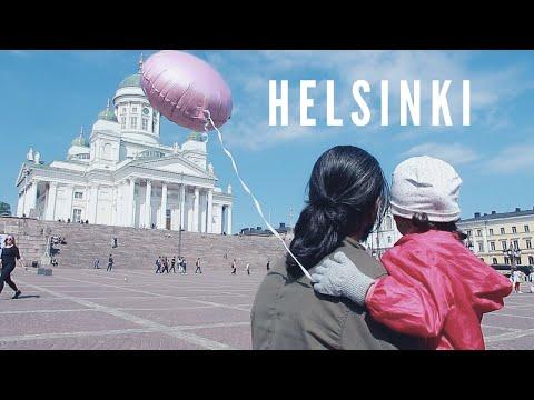 THE BEST DAY IN HELSINKI!! Moomin Cafe & Helsinki City Tour | Finland Travel Vlog