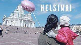 THE BEST DAY IN HELSINKI!! Moomin Cafe & Helsinki City Tour | Finland Travel Vlog