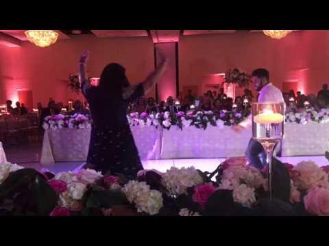 Wedding dance performance by brother & sister on char char bangdi wali gaadi