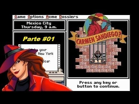 Where in the World is Carmen Sandiego? - (Mega Drive) - Completo - Parte 1