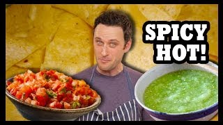 How To Make Salsa That Doesn't Suck! - Food Feeder