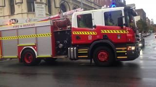 Perth Dfes 3rd Alarm Response