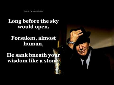 Suzanne   LEONARD COHEN  (with lyrics)