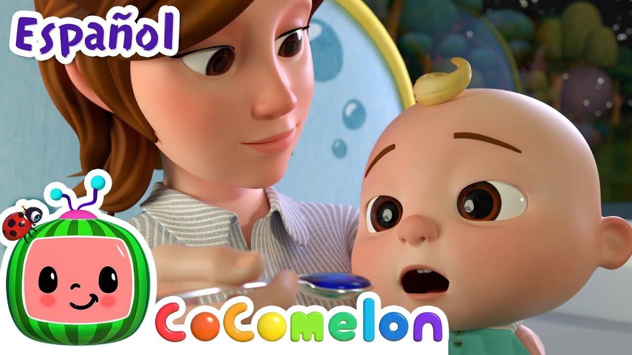 CoComelon en Español   La canción de la gripe   Canciones Infantiles