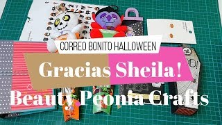 Correo bonito de Beauty Peonia Crafts | Halloween y Album de Verano!