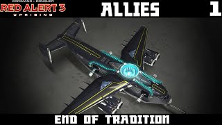 Red Alert 3: Uprising Allies Lets Play Part 1 - End of Tradition