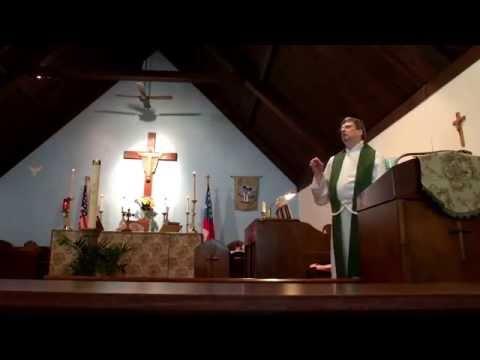 St. John's Episcopal Church, Charlotte, Michigan, USA:  Sermon of June 22, 2014