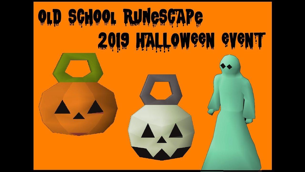 Runescape 2020 Halloween Event Rewards Old School Runescape   2019 Halloween Event   YouTube