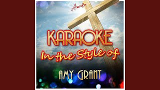 Grown Up Christmas List (In the Style of Amy Grant) (Karaoke Version)