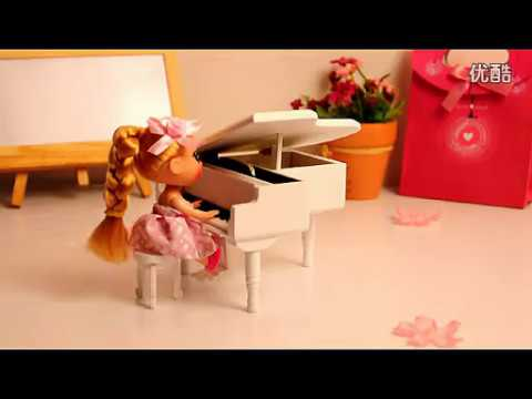 Piano Mini Music Box - Music Note Gifts