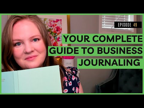 YOUR COMPLETE GUIDE TO BUSINESS JOURNALING   Free Business Journal Template