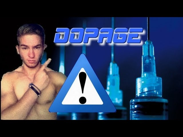 LE DOPAGE : DANGEUREUX !!!!