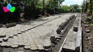 Alcaldía de San Rafael del Sur desarrolla proyecto de adoquinado en comunidad Los Gutiérrez Norte