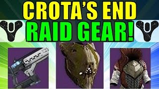 Destiny: Crota's End Raid Gear! (The Dark Below DLC)