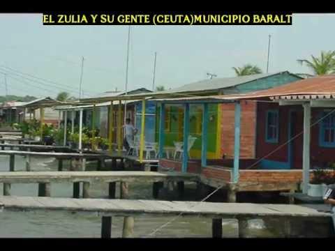 Ceuta Hermoso Pueblo De Palafitos De Baralt EL ZULIA Y SU GENTE.wmv