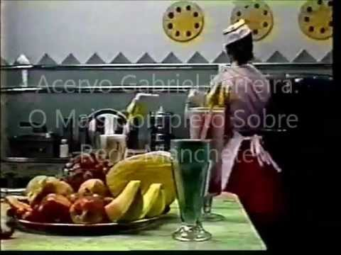 Vinheta de Intervalo do Programa Milk-Shake - 1990 - Rede Manchete