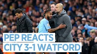 Man City 3-1 Watford | GUARDIOLA PRESS CONFERENCE