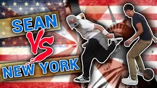 SEAN GARNIER vs. NEW YORK / @SeanFreestyle