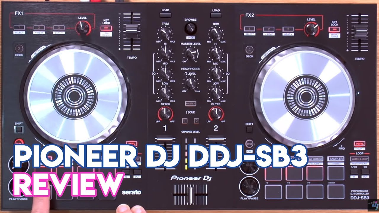 Pioneer DJ DDJ-SB3 Review & Demo