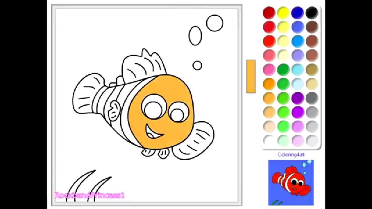 disney finding nemo coloring pages finding nemo coloring book