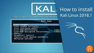 How to install Kali Linux 2018.1