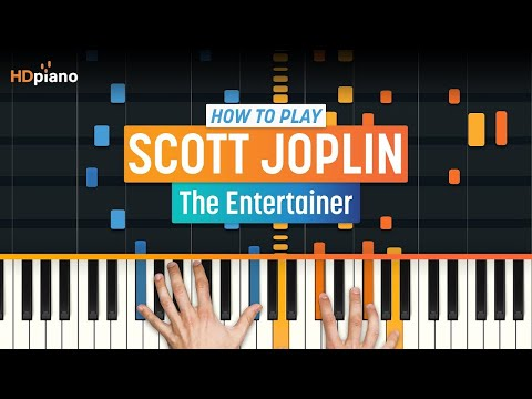 "How To Play ""The Entertainer"" By Scott Joplin 