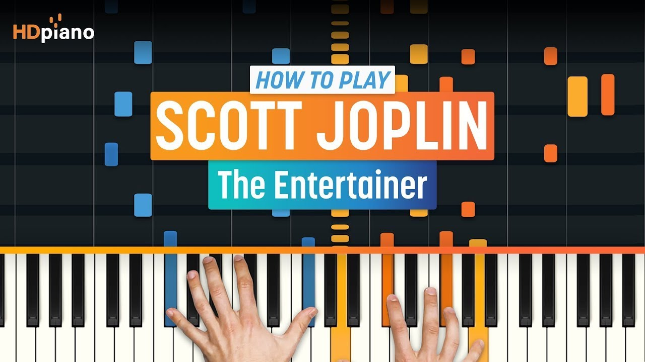 how to play the entertainer by scott joplin hdpiano part 1 piano tutorial youtube. Black Bedroom Furniture Sets. Home Design Ideas