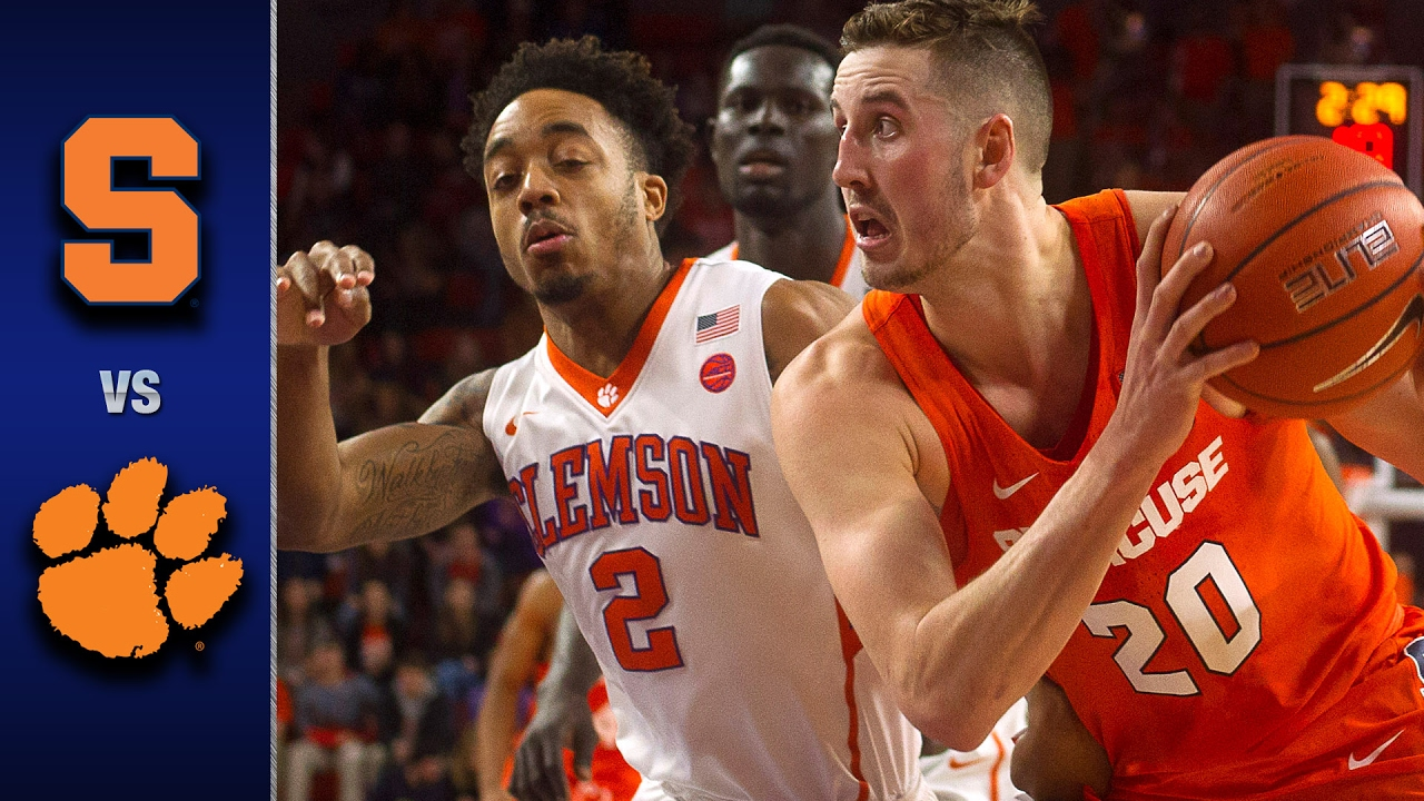 Image result for Clemson vs Syracuse Basketball