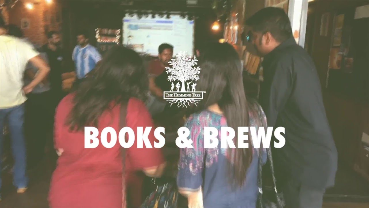 Books & Brews At The Humming Tree I Bangalore I India